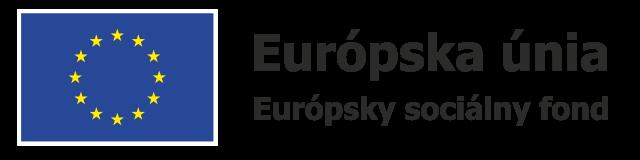 Logo Európsky sociálny fond