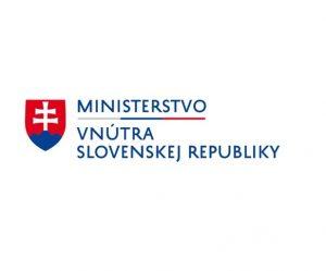 Logo Ministerstva vnútra SR