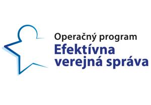 Logo operačného programu Efektívna verejná správa