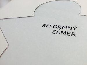 Reformný zámer