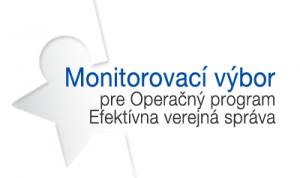 Banner pre Monitorovací výbor pre OP EVS