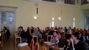Diskusia zástupcov štátnej správy a súkromného sektora so študentmi Univerzity Mateja Bela v Banskej Bystrici